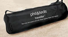 Phil and Ted's T2 Travel Cot